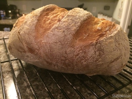 The finished bread